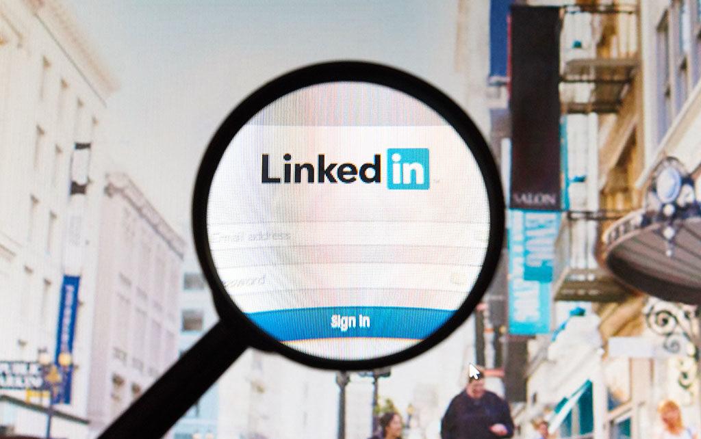 Extracto de LinkedIn para buscar trabajo