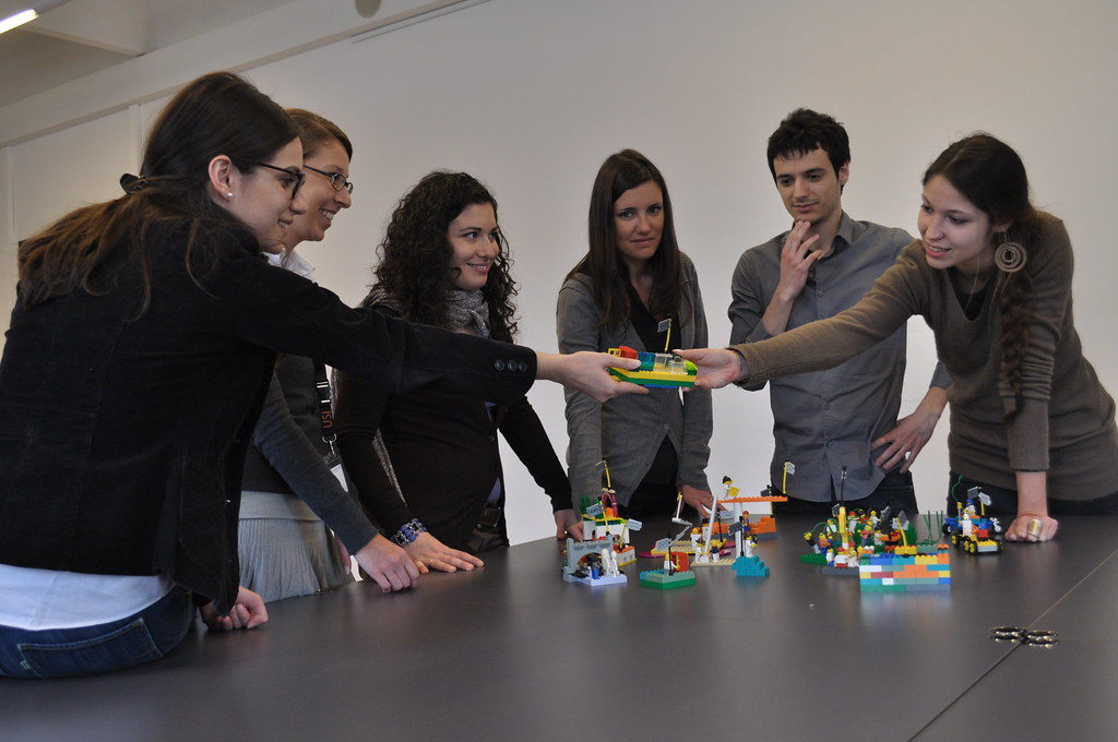 Certificación de España para LEGO Serious Play en 2019 y 2020